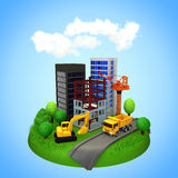 Stadtentwicklung Lizenzfreies Stockfoto