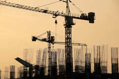 Stadtentwicklung makati Stadt Manila lizenzfreie stockbilder