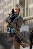 Stadtfrau Lizenzfreie Stockfotos