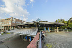 The Stadtgarten MRT station royalty free stock photography