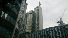 Stadtgebäude 3 Stockbild