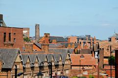 Stadtgebäude, Chester Lizenzfreie Stockbilder