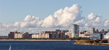 Stadtgebiet von Sankt-Peterburg Lizenzfreies Stockbild
