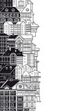 Stadthäuser. vektor abbildung