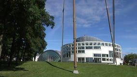 Stadthalle Bielefeld som upprättar skottet lager videofilmer