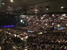 Stadthalle-Konzertsaal Wien Stockfotografie