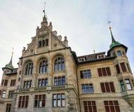 Stadthaus在苏黎世老市中心 免版税库存照片