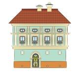 Stadthaus vektor abbildung