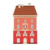 Stadthaus lizenzfreie abbildung