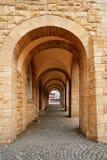 Stadthaus Nordhausen archs σε Harz Γερμανία Στοκ φωτογραφίες με δικαίωμα ελεύθερης χρήσης