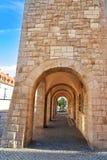 Stadthaus Nordhausen archs σε Harz Γερμανία Στοκ Εικόνες