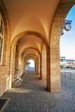 Stadthaus Nordhausen archs σε Harz Γερμανία Στοκ Φωτογραφία