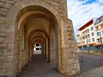 Stadthaus Nordhausen archs σε Harz Γερμανία Στοκ εικόνα με δικαίωμα ελεύθερης χρήσης