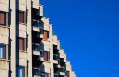 Stadthausfenster Lizenzfreie Stockfotografie