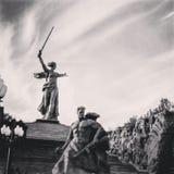 Stadtheld Stalingrad stockbild
