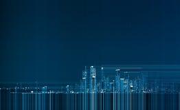 Stadthintergrund Stockbilder