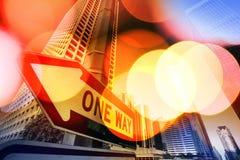Stadthintergrund stockfotografie