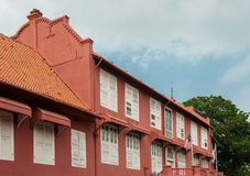 Stadthuys (Dutch City Hall) in Melaka Stock Photography