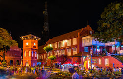 The Stadthuys, a historical structure in Malacca, Malaysia Royalty Free Stock Images
