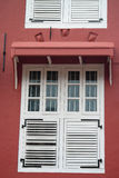 Stadthuys (Holenderski urząd miasta) w Melaka Zdjęcia Royalty Free