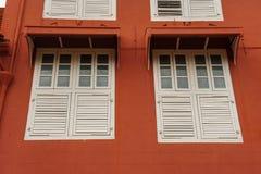 Stadthuys (ville hôtel néerlandaise) dans Melaka photographie stock