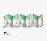 Stadtkartenseite mit copyspace Lizenzfreie Stockbilder