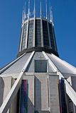 Stadtkathedrale, Liverpool, Großbritannien Stockbild