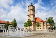 stadtkirche neustrelitz Германии города церков стоковая фотография rf