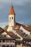 Stadtkirche in Thun Stock Image
