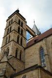 Stadtkirche von Esslingen am Неккар Стоковые Фотографии RF