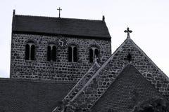 Stadtkirche von Ziesar, Deutschland lizenzfreie stockbilder