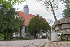 Stadtkirchhof Lizenzfreies Stockbild