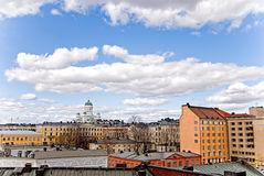 Stadtlandschaft. Lizenzfreie Stockbilder