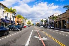 Stadtlandschaft, Pasadena stockfotos