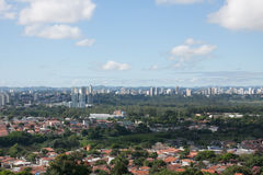 Stadtlandschaft 3 - Sao Jose Dos Campos Lizenzfreie Stockfotos