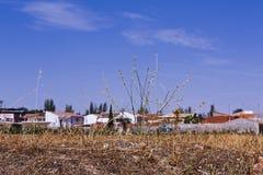 Stadtlandschaft in Spanien lizenzfreies stockbild