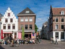 Stadtleben in Utrecht, die Niederlande Stockfotografie