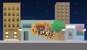 Stadtleuchten Lizenzfreie Stockbilder