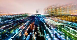 Stadtleuchten stockbilder