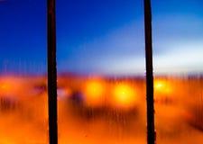 Stadtlichter stockbilder