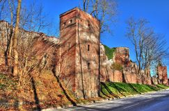 Stadtmauer Landsberg Lech Royalty Free Stock Photography