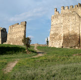 Stadtmauer von Saloniki Stockfoto