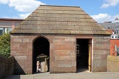 Stadtmauergebäude, Chester Lizenzfreies Stockbild