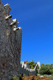 Stadtmauern der Stadt von Hvar Lizenzfreie Stockbilder