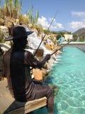 Stadtmitte-Skulpturen der Türkei Marmaris Stockfotografie