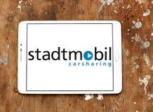 Stadtmobil logo Zdjęcia Stock