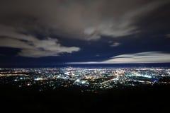 Stadtnacht Stockfoto