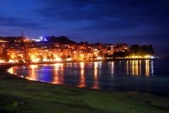 Stadtnacht Stockbild