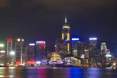 Stadtnachtszene Stockbilder