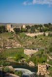 Stadtpanorama von Toledo Lizenzfreies Stockfoto